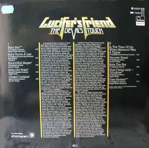Lucifer's Friend - The Devil's Touch (1976)