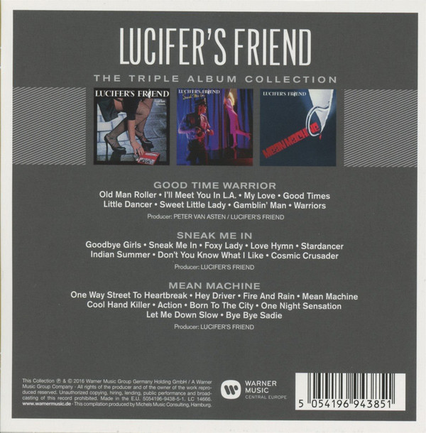 Lucifer's Friend - The Triple Album Collection (2016)