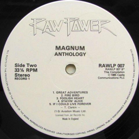 Magnum - Anthology (1986)