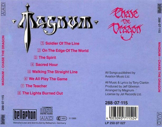 Magnum - Chase the Dragon (1982)
