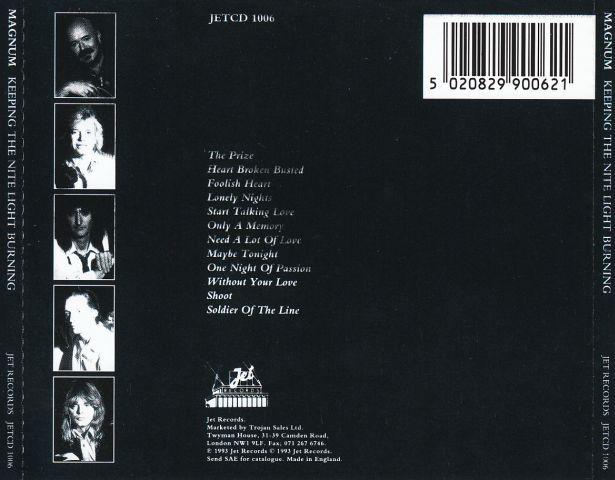 Keeping The Nite Light Burning (1993)