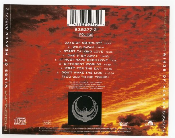 Wings Of Heaven (1988)