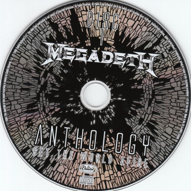 Megadeth - Anthology: Set the World Afire (2008)