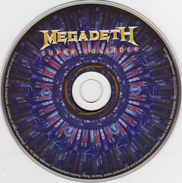 Megadeth - Super Collider (2013)