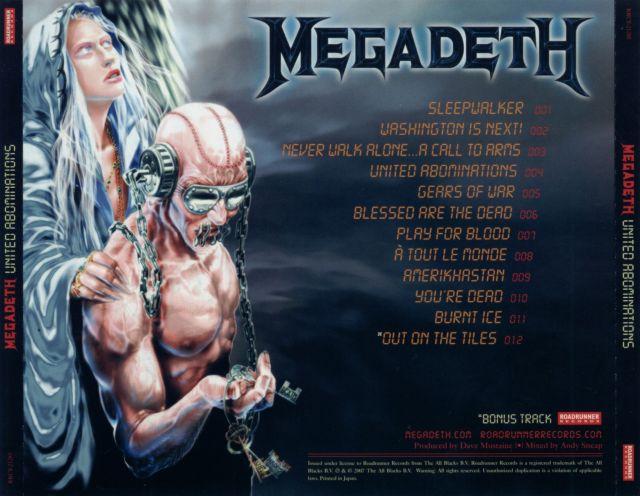 Megadeth - United Abominations (2007)