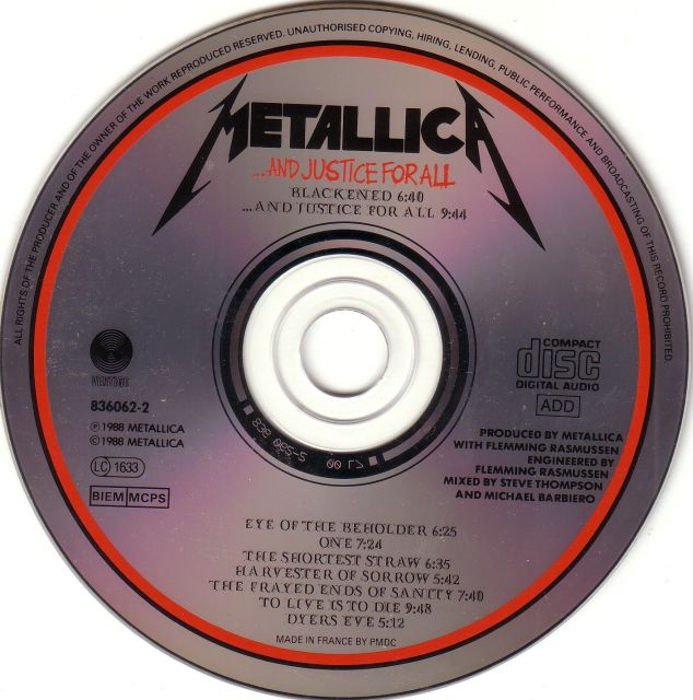 Metallica - ...And Justice for All (1988)