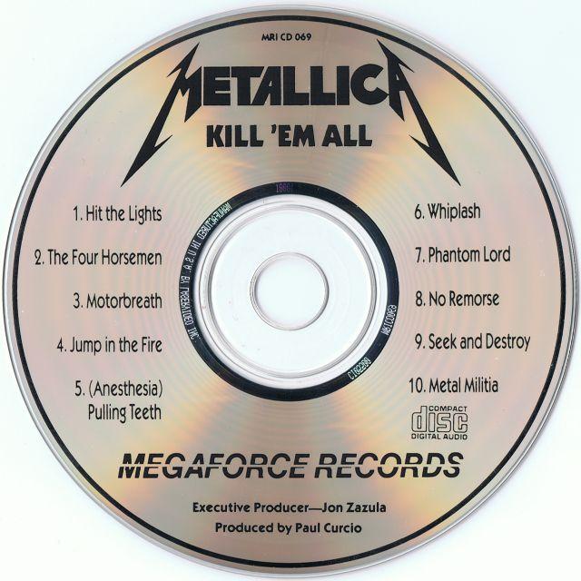 Kill 'Em All (1983)