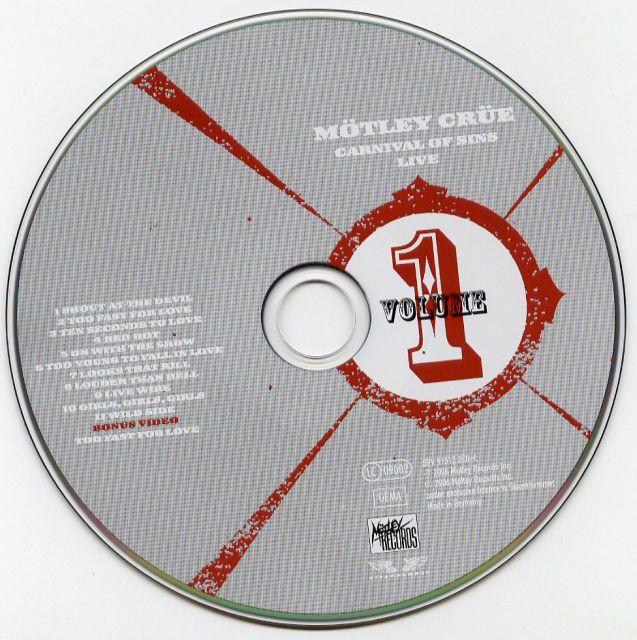 Mötley Crüe - Carnival of Sins Live (2006)