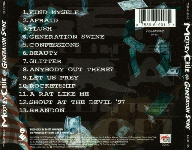 Mötley Crüe - Generation Swine (1997)