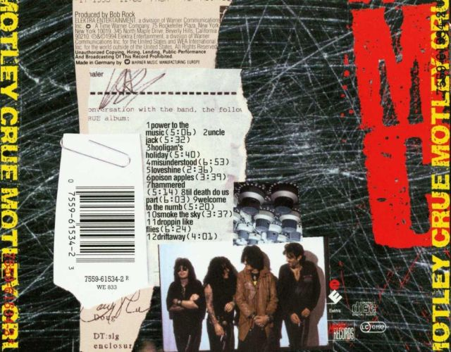 Mötley Crüe - Mötley Crüe (1994)