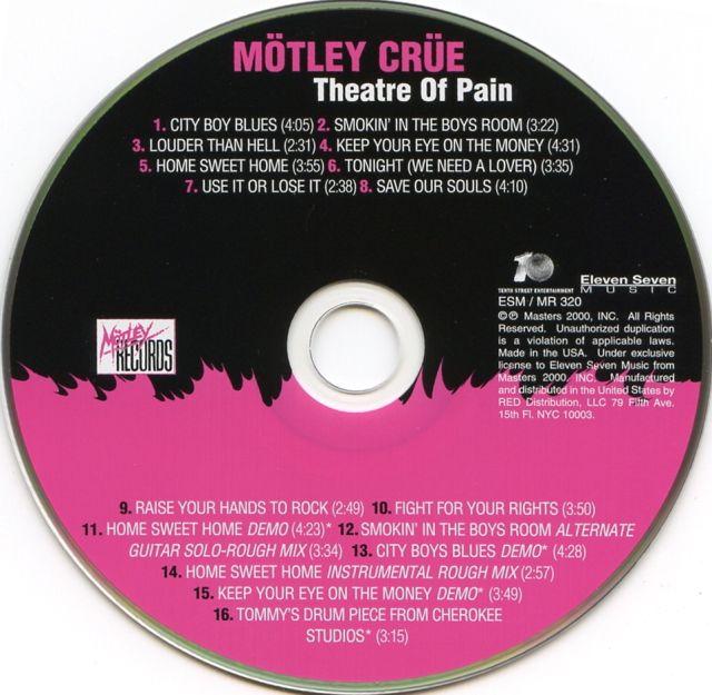 Mötley Crüe - Theatre of Pain (1985)
