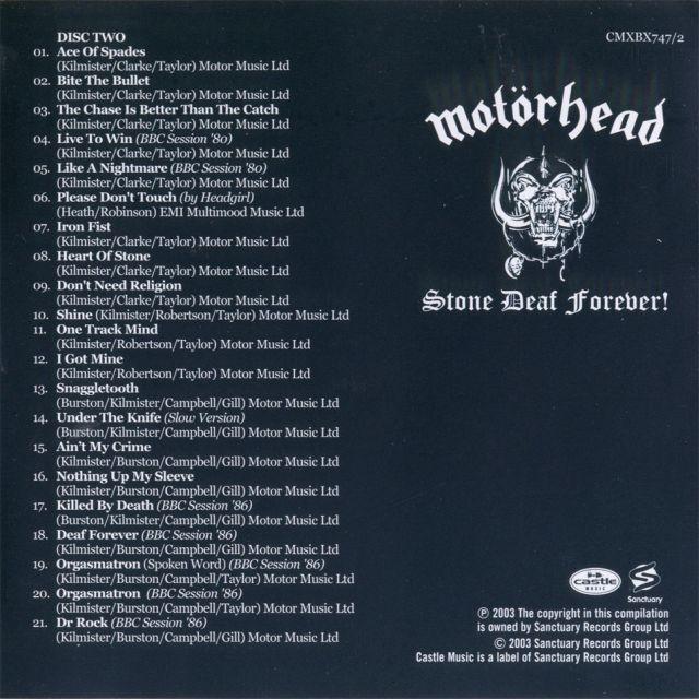 Stone Deaf Forever! (2003)