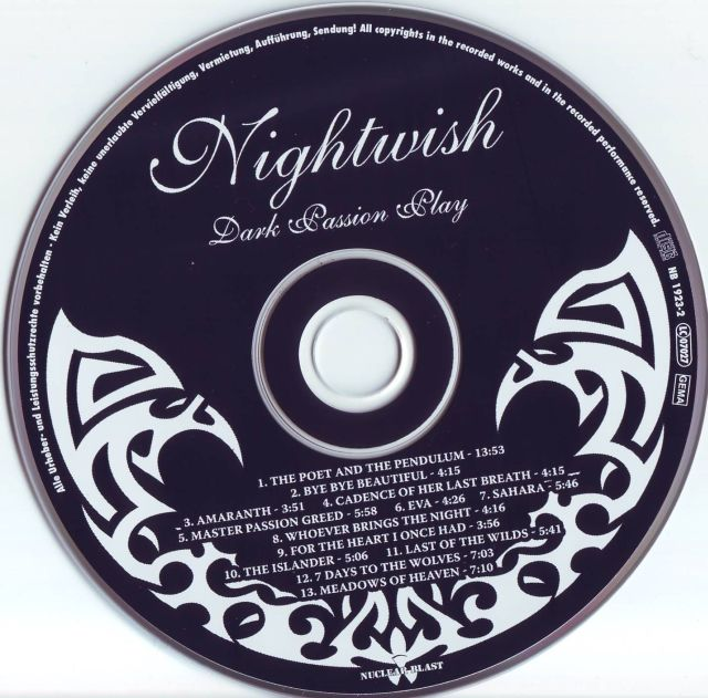 NIGHTWISH АЛЬБОМ DARK PASSION PLAY PLATINUM EDITION MP3 320 KBPS СКАЧАТЬ БЕСПЛАТНО