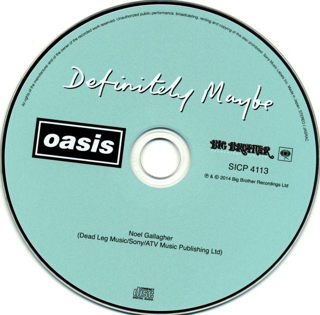 Oasis - Definitely Maybe (1994)