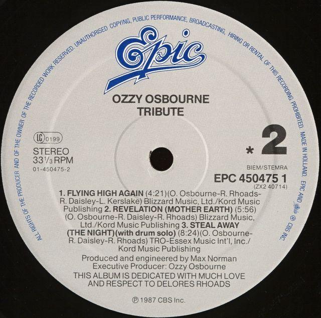 Randy Rhoads Tribute (1987)