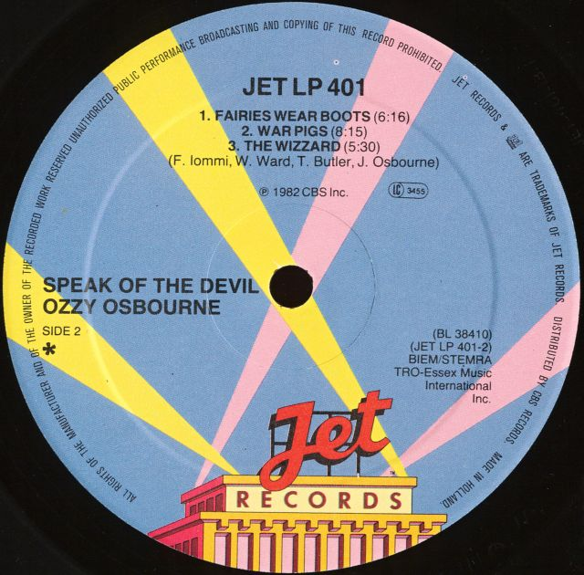 Speak of the Devil (1982)