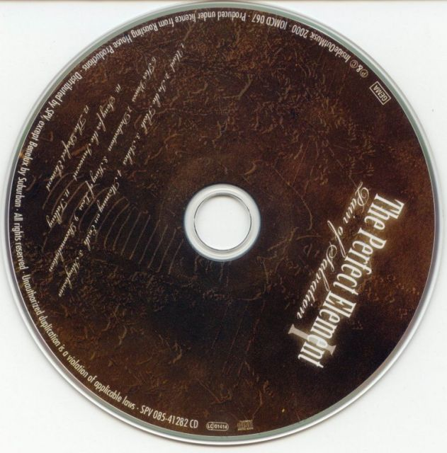 Pain of Salvation - The Perfect Element, Part I (2000)