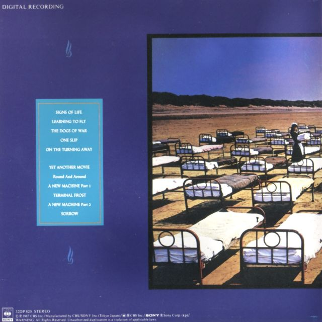 Pink Floyd - A Momentary Lapse of Reason (1987)