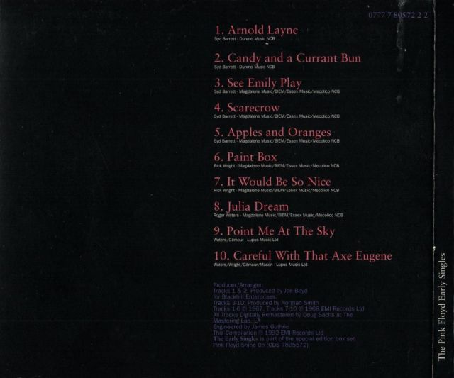 The Early Singles (1992)