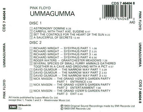 Ummagumma (1969)