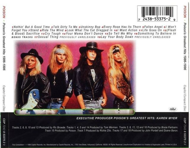 Poison's Greatest Hits: 1986–1996 (1996)