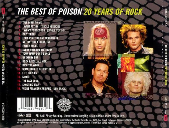 The Best of Poison: 20 Years of Rock (2006)