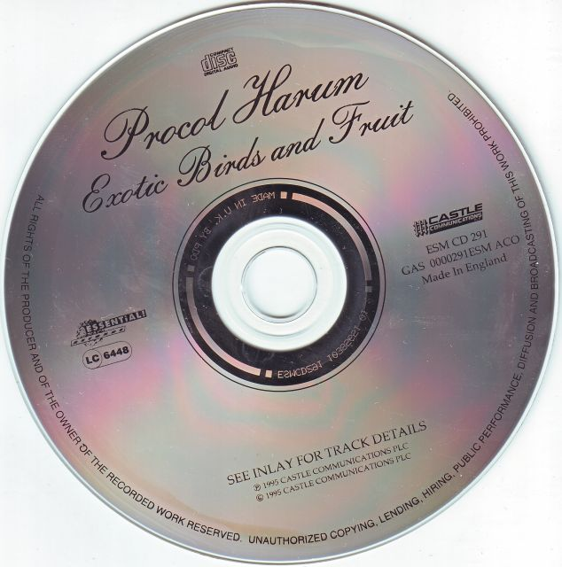Procol Harum - Exotic Birds and Fruit (1974)