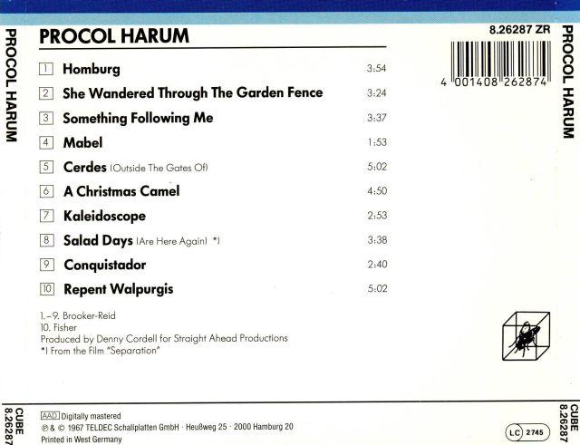Procol Harum - Procol Harum (1967)