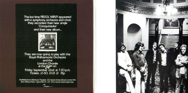 Procol Harum - Procol Harum Live with the Edmonton Symphony Orchestra (1972)