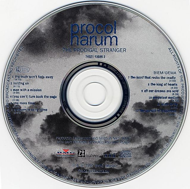 Procol Harum - The Prodigal Stranger (1991)