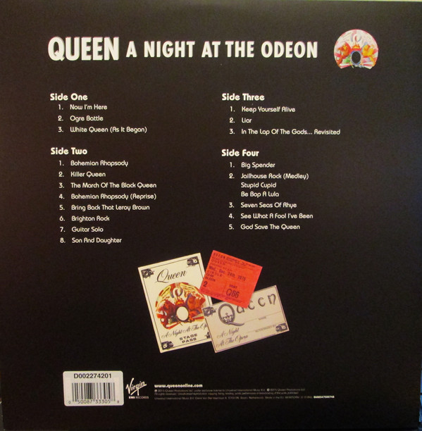 Queen - A Night At The Odeon (2015)