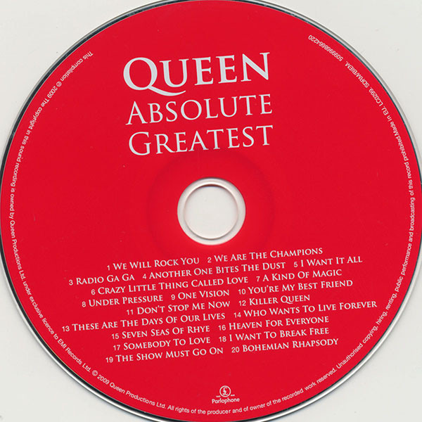 Queen - Absolute Greatest (2009)