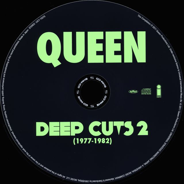 Queen - Deep Cuts, Volume 2 (1977-1982) (2011)