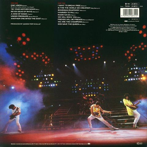 Live Magic (1986)