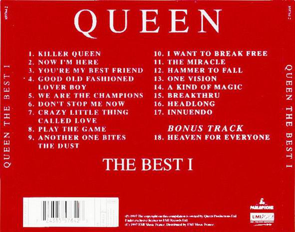 Queen - The Best 1 (1997)