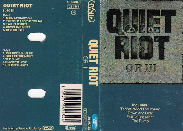 Quiet Riot III (1986)