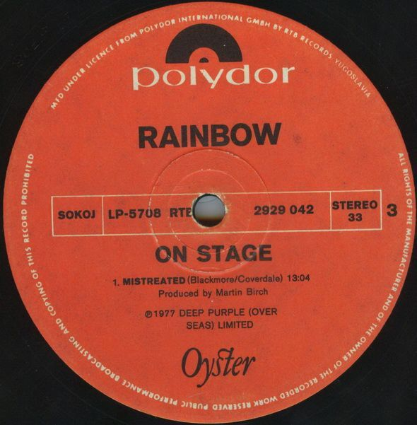 On Stage (1977)