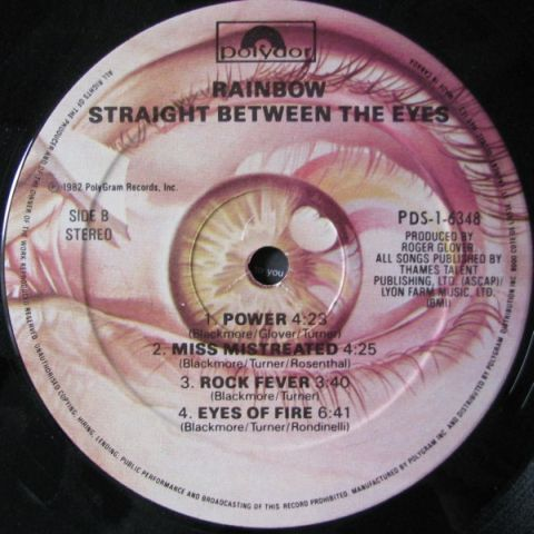 Straight Between the Eyes (1982)
