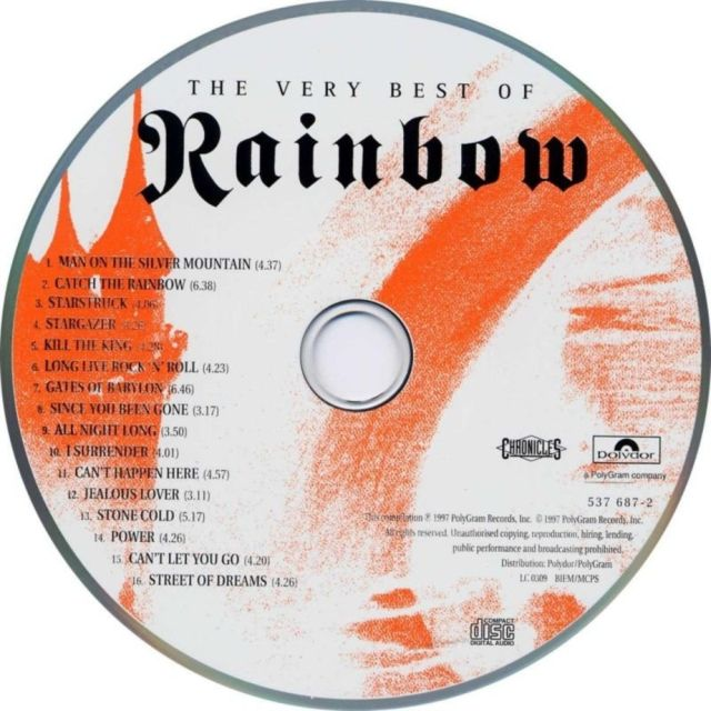 The Very Best of Rainbow (1997)