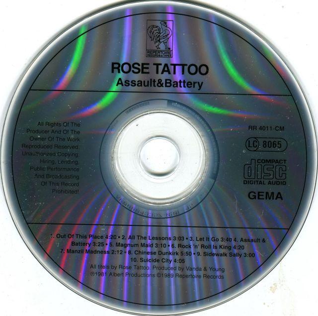 Rose Tattoo - Assault & Battery (1981)