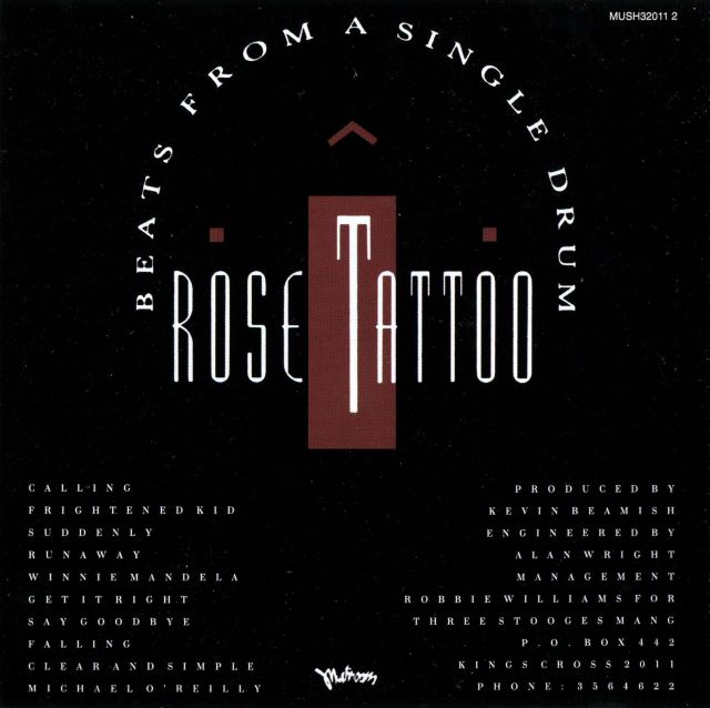 Rose Tattoo - Beats from a Single Drum (1986)