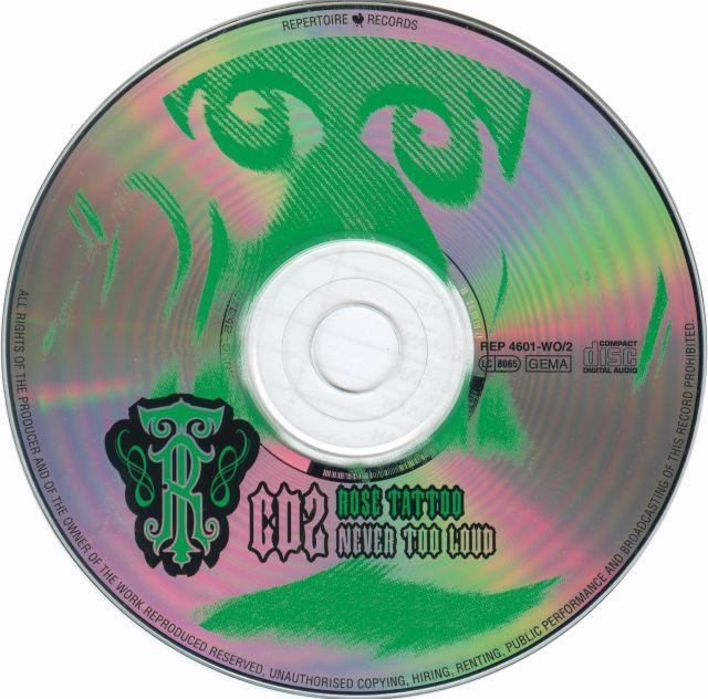 Never Too Loud (1999)