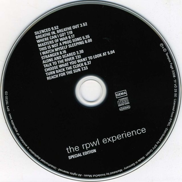 The RPWL Experience (2008)