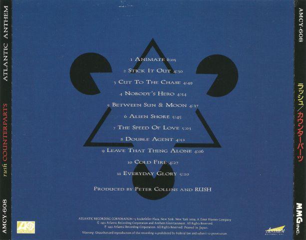 Rush - Counterparts (1993)