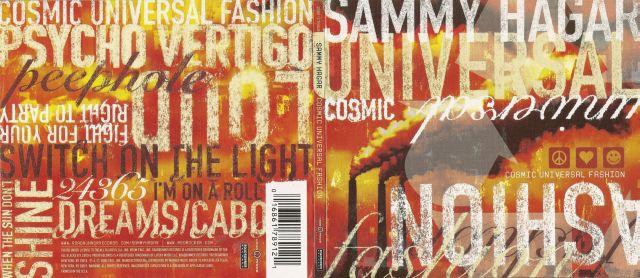 Sammy Hagar - Cosmic Universal Fashion (2008)