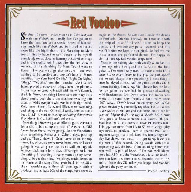 Red Voodoo (1999)