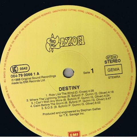 Destiny (1988)