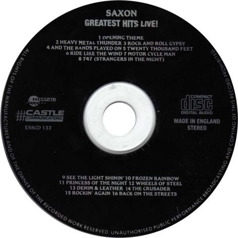 Greatest Hits Live (1990)