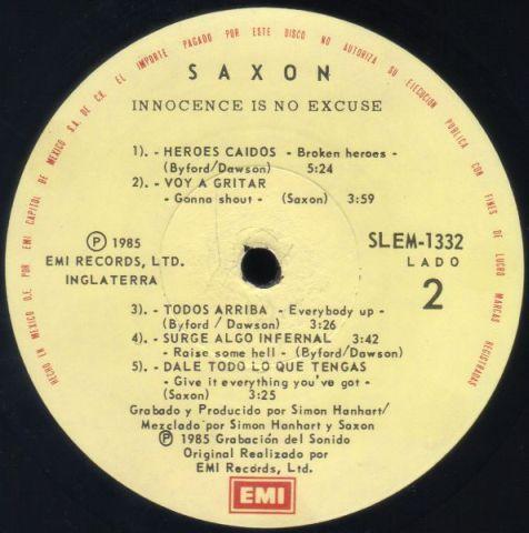 Innocence Is No Excuse (1985)