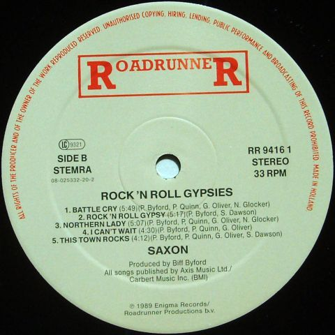 Rock 'n' Roll Gypsies (1989)